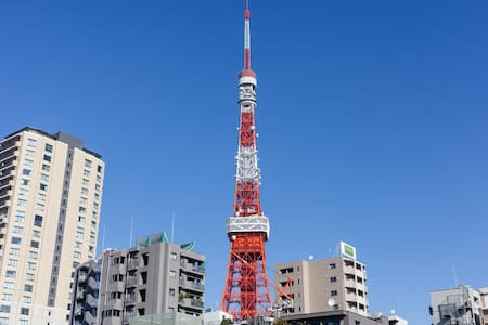 Tokyo tower to 5min in minatoku - Minato-ku - Apartment