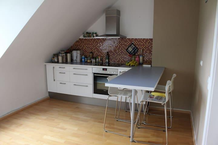 Cozy, well located private room central Bockenheim