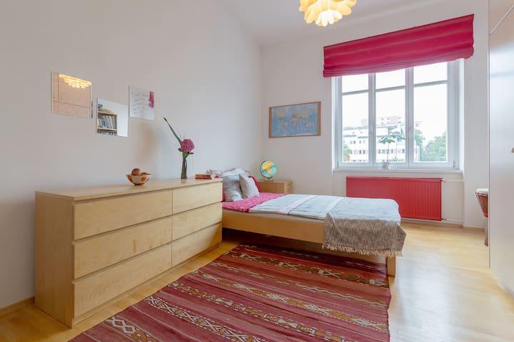 Großes Zimmer im Wandelhaus - Klagenfurt Zentrum