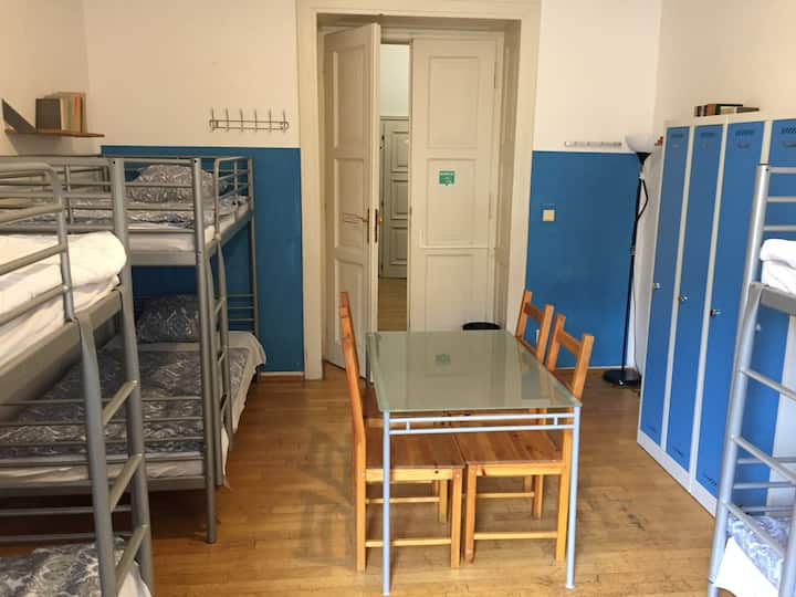 Dormitory 6 bedded Female only/shared bathroom