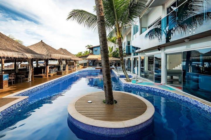 Ang015 - Villa spectaculaire de 16 chambres avec piscine à Angra dos Reis