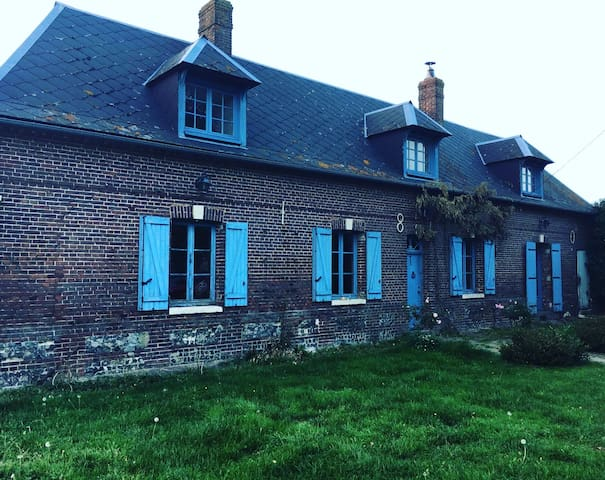 charmante maison ancienne en pleine campagne
