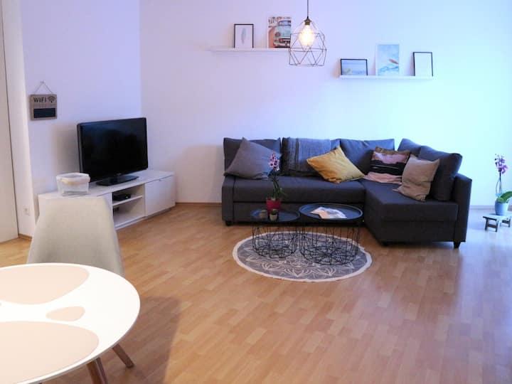 Gemütliche Souterrain Wohnung in Sörgenloch/Rhh.