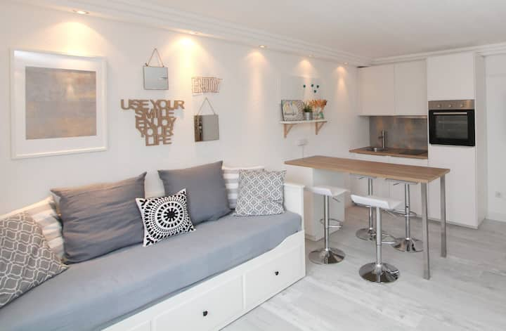 Helles & schickes Apartment - Klimaanlage