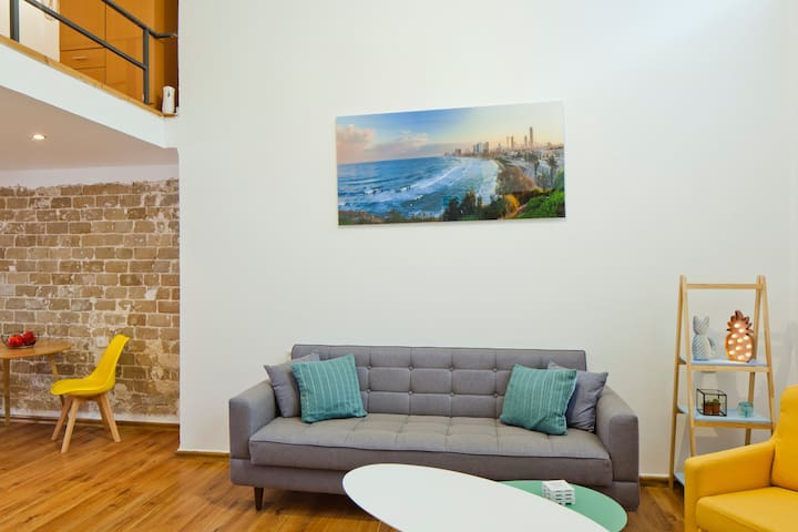 Florentin neighborhood lofts in Tel Aviv-Yafo