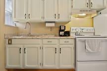 Full Size Appliance make it feel like home Kitchen!