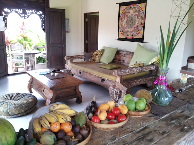 Tranquil Villa, home away from home - Ubud - Hus