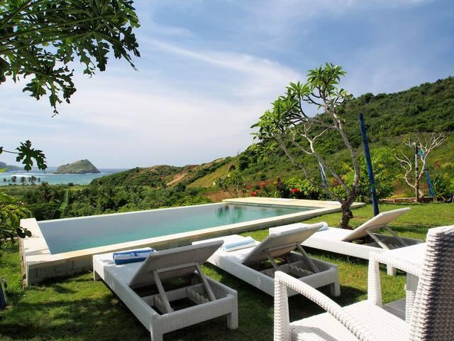 Blue Monkey  Ocean View Room with infinity pool