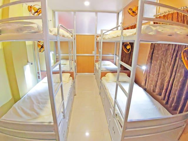 Bed in Mix Dorm at Hotel Ganesha At Assi Varanasi II