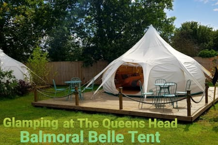 Glamping at The Queens Head (Balmoral 2-4 people)