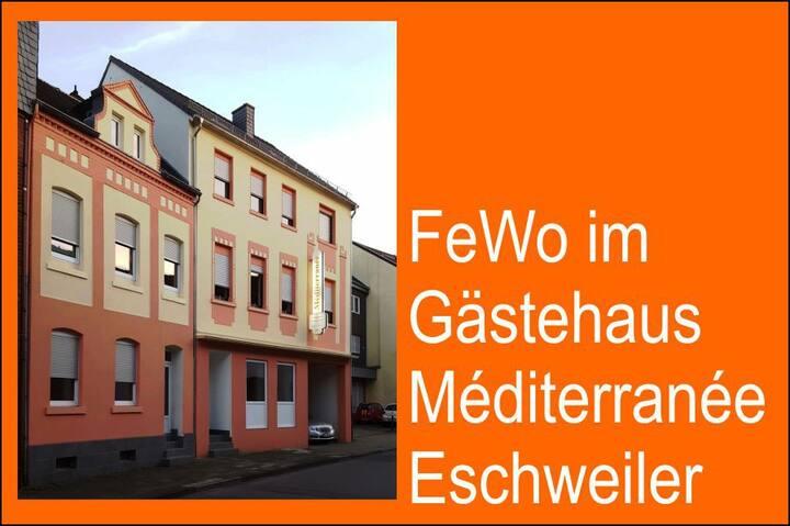 Bei Freunden in Eschweiler  Gästehaus Méditerranée