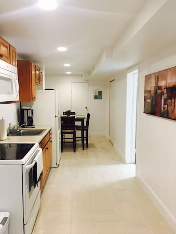 Private basement in a lovely area, check it out! - Laurel - Casa