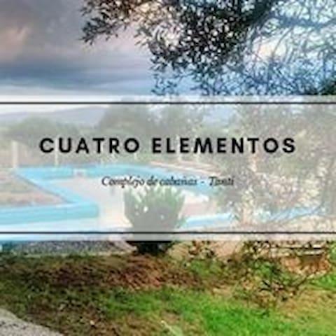 """Complejo de Cabañas - """"4 Elementos"""" - Córdoba"""