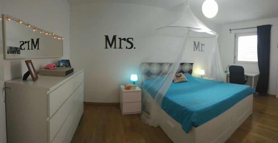 Modern bright apartment near Como and Lugano Lakes