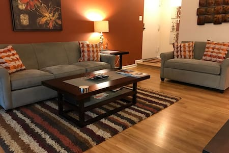 Spacious & Zen 3BR/2BA Garden Condo w/ Yoga Studio - Oakton - Appartement