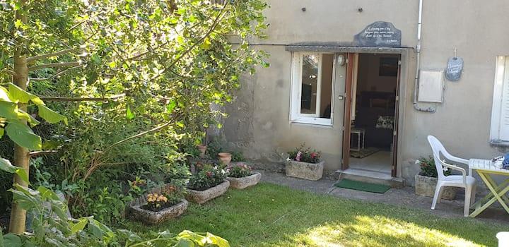 Joli appartement en rez-de-jardin