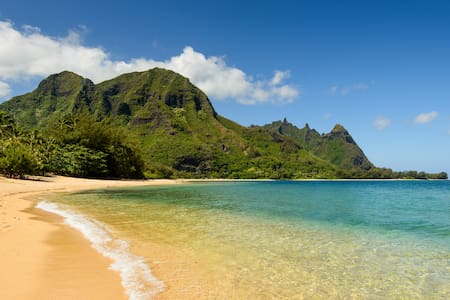NEW!! Haena Home - steps to secluded beach - Hanalei - 獨棟