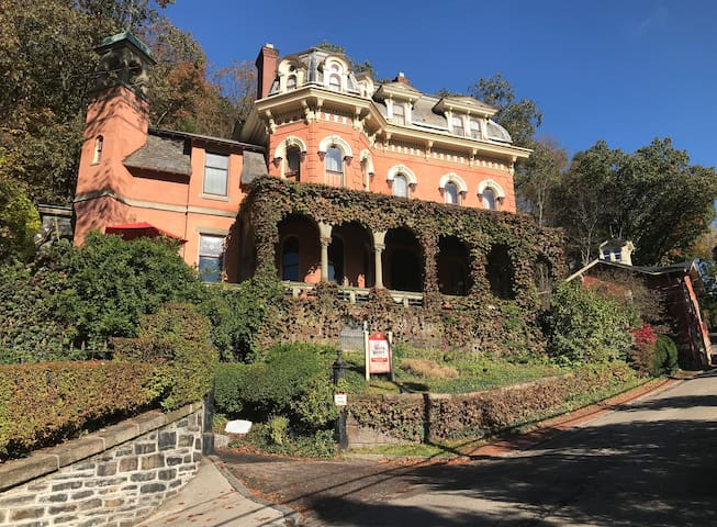 Victorian mansion in historic downtown Jim Thorpe