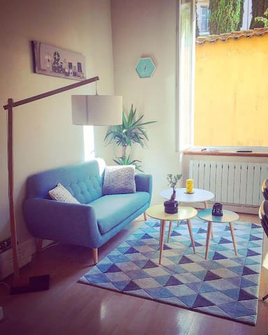 Charmant petit logement !! - Lyon - Huoneisto