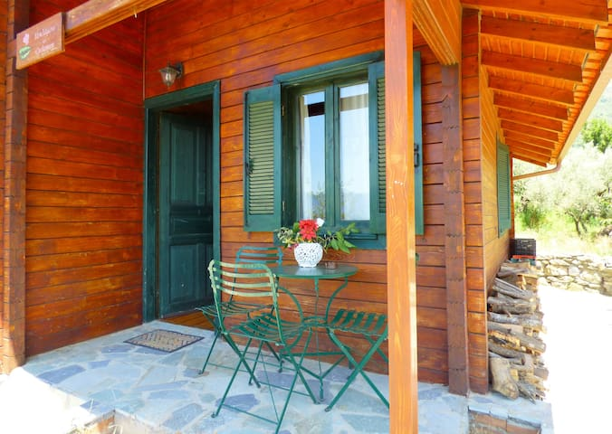 Chalet for alternative travelers in Alagonia