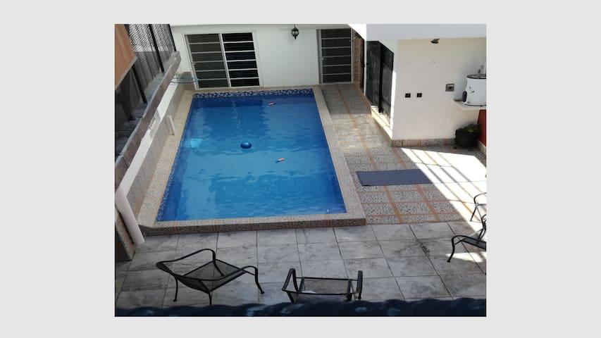 CASA ANGLES(casa amplia, con Alberca,Terraza,WiFi)