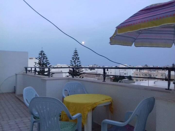 appartement meublé   Zone Touristique   de Mahdia