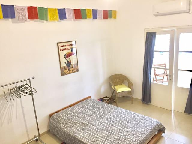 King-Size Bedroom, Urban Oasis Haifa