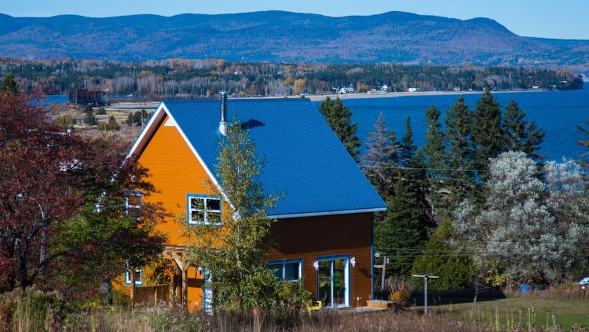 Nellis Cottage/Chalet Nellis - Gaspé