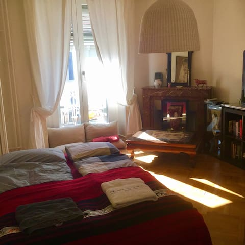 Private Room close to the Rhone - Genève - Appartement