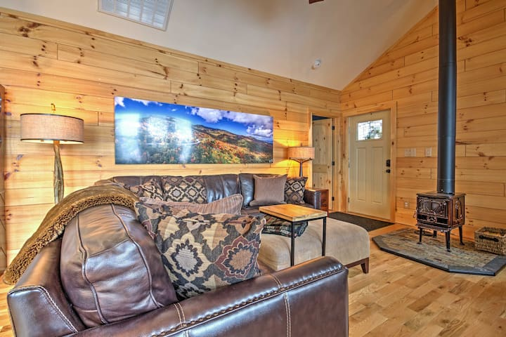 2BR Cottage in Blowing Rock Area-Mountain Views! - Lenoir - Casa