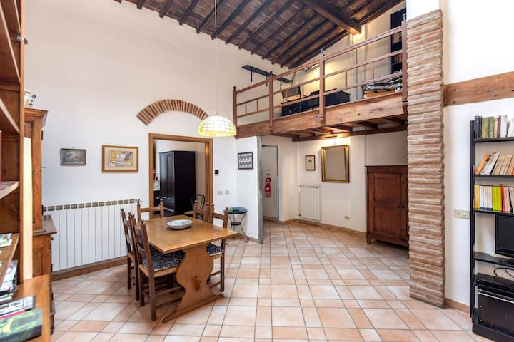 Penthouse apartment in Via dei Pepi