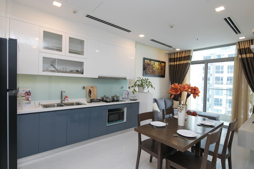Open Kitchen with fully Equip