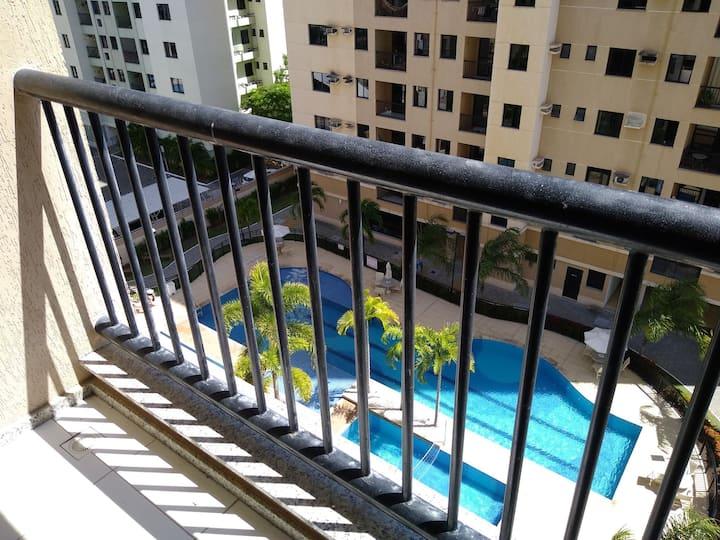 Apartamento completo em  condomínio clube elevatto