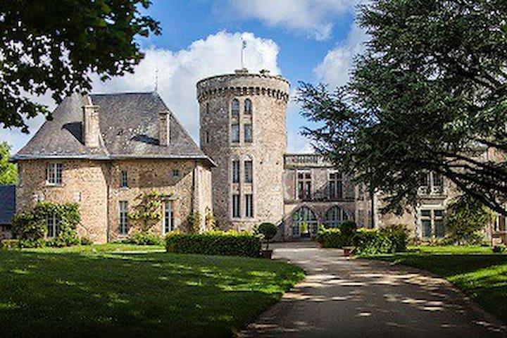 The pavillion of Flocelliere castle