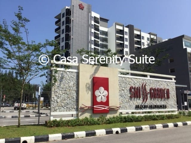 Welcome to Casa Serenity Suite at Swiss Garden Resort Residences