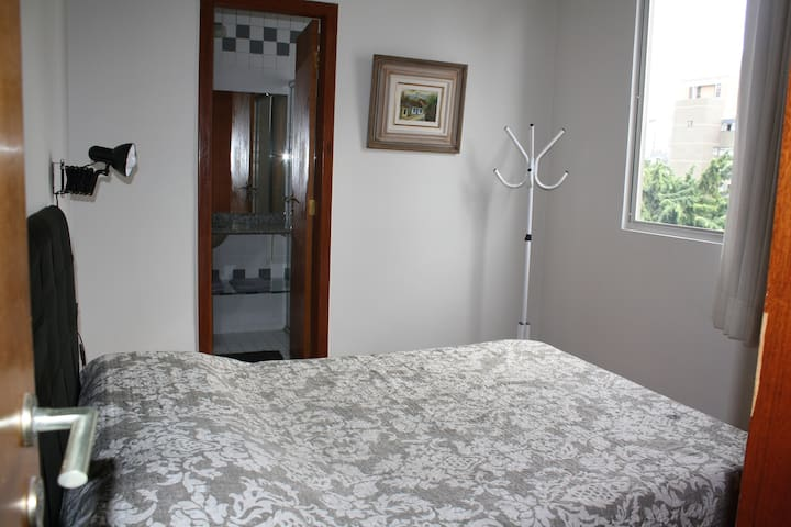 space well located with bed linen, bath & kitchen