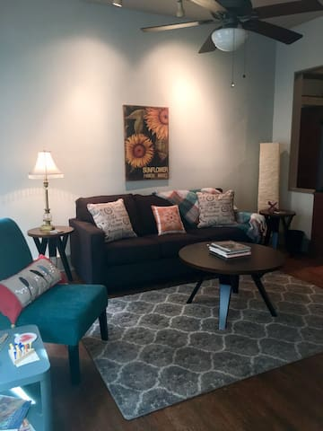 1906 charming, cozy duplex in downtown Memphis