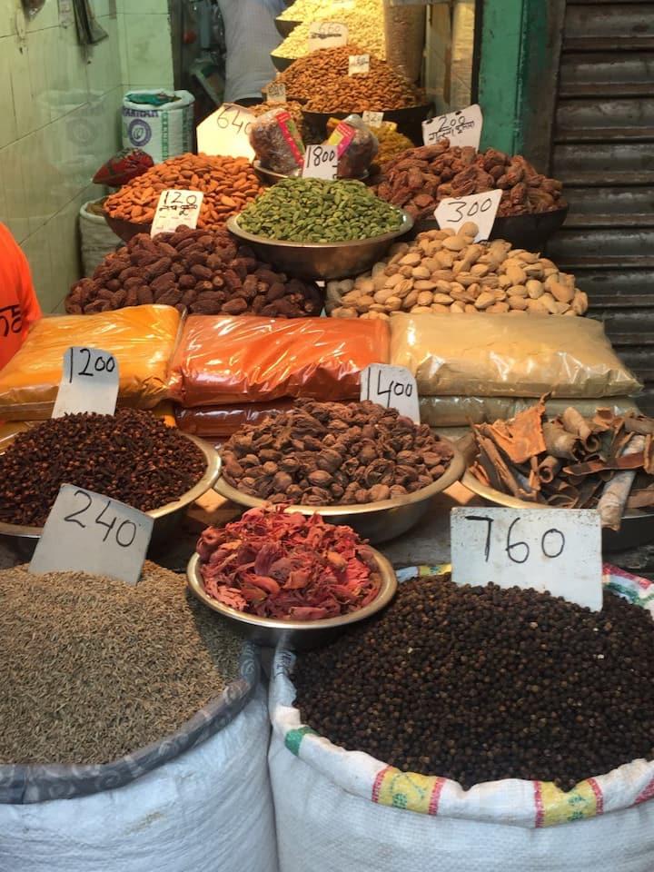 Spice & Dry Fruit Market
