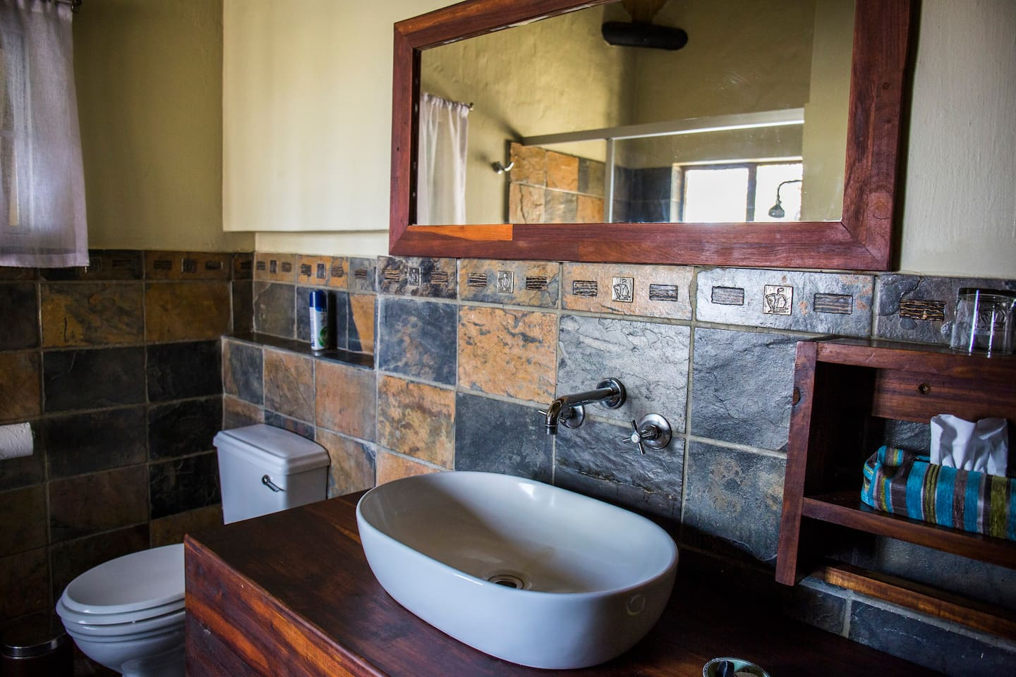 Namushasha River Lodge Bathroom