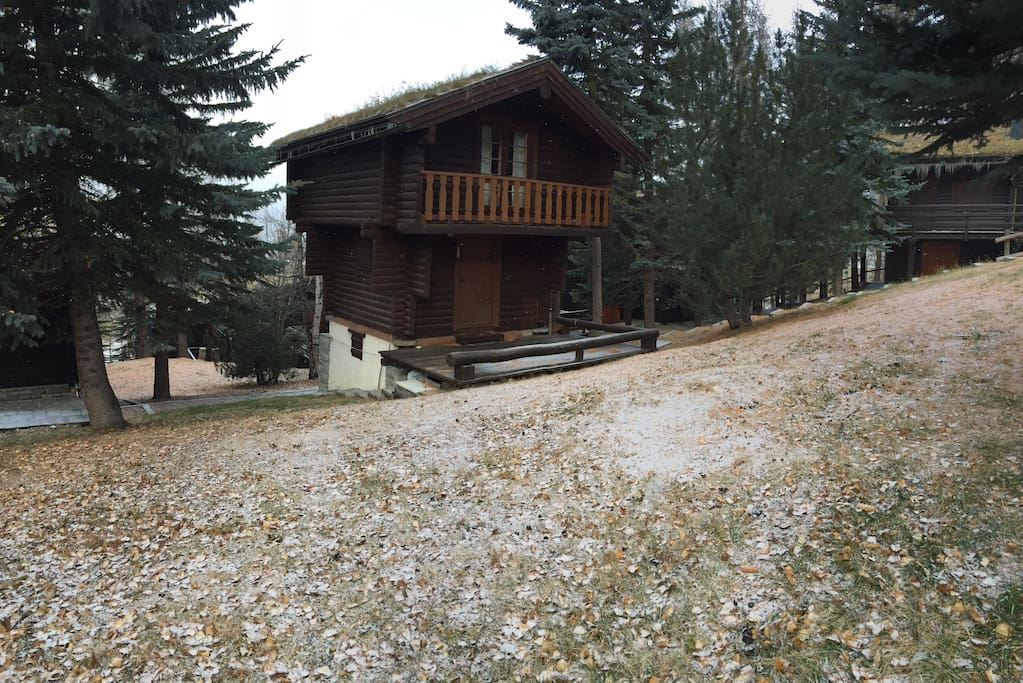 Chalet s sansicario vista chaberton case in affitto a for Airbnb accedi