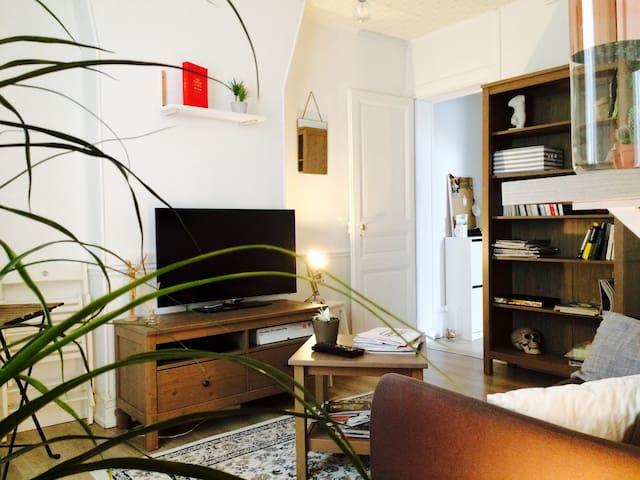 Appartement 2 pièces Paris 17ème - Batignolles