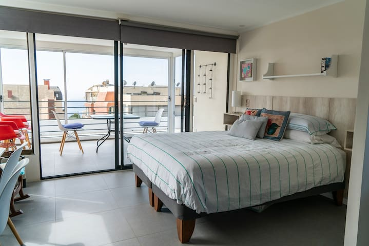 Penthouse - Küref Studio Suites Algarrobo