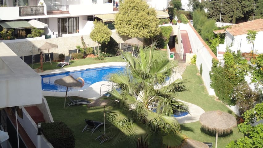 Ático con terraza y piscina/ Beautiful penthouse - Torremolinos - Apto. en complejo residencial