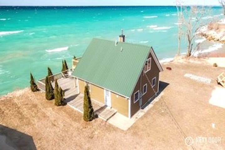 Lakefront Cottage Lake Michigan