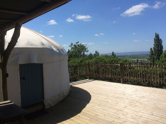 The Teasel Yurt