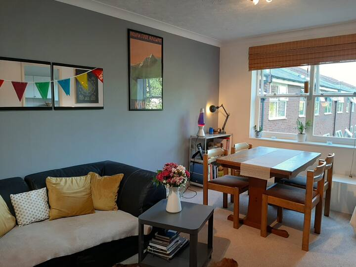 Cosy and Bright Two Bedroom Flat