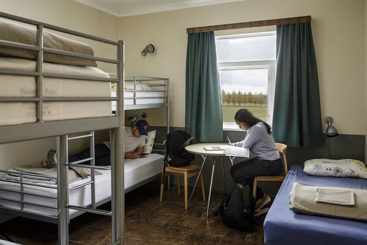 Hostel Skogar - Family room