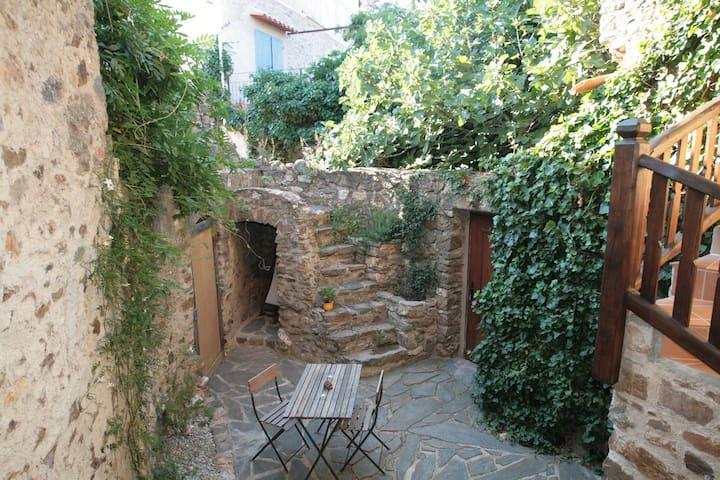 Joli gite avec cour et terrasse - Tordères - Huis