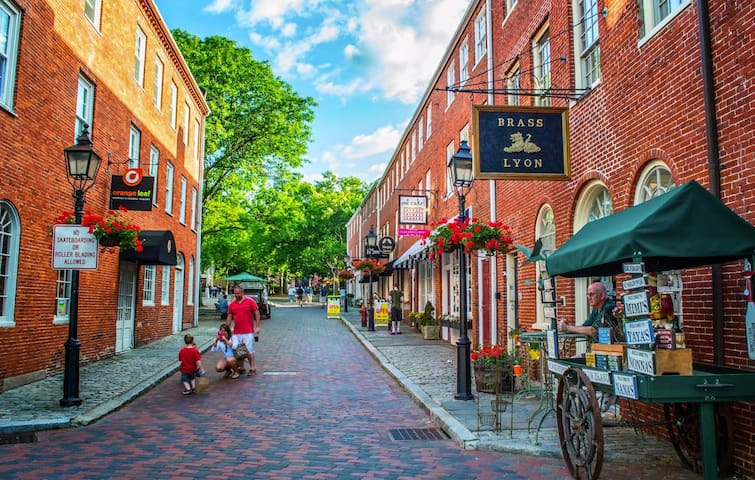 Newburyport is a Massachusetts treasure.  Newburyport center offers much for visitors including excellent restaurants (we recommend Angie's for brunch), retail shops, ice cream places, fresh bagels, and a weekly market.