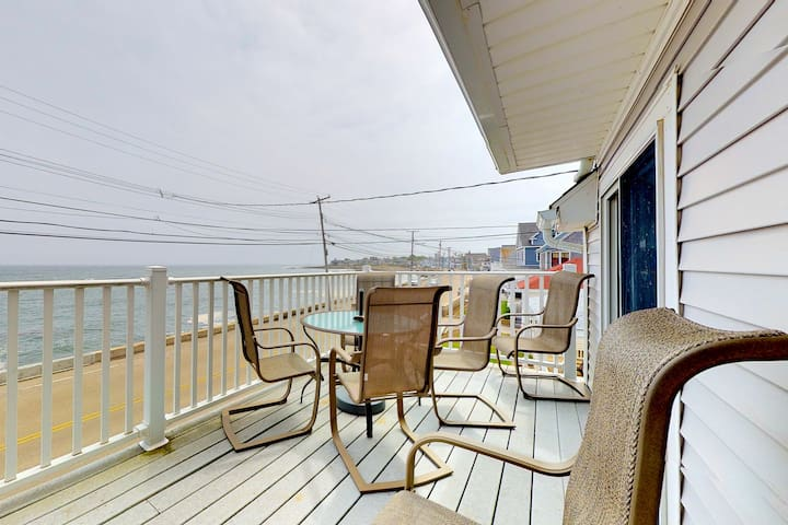 Family-friendly, waterfront getaway w/ balcony, & beach access